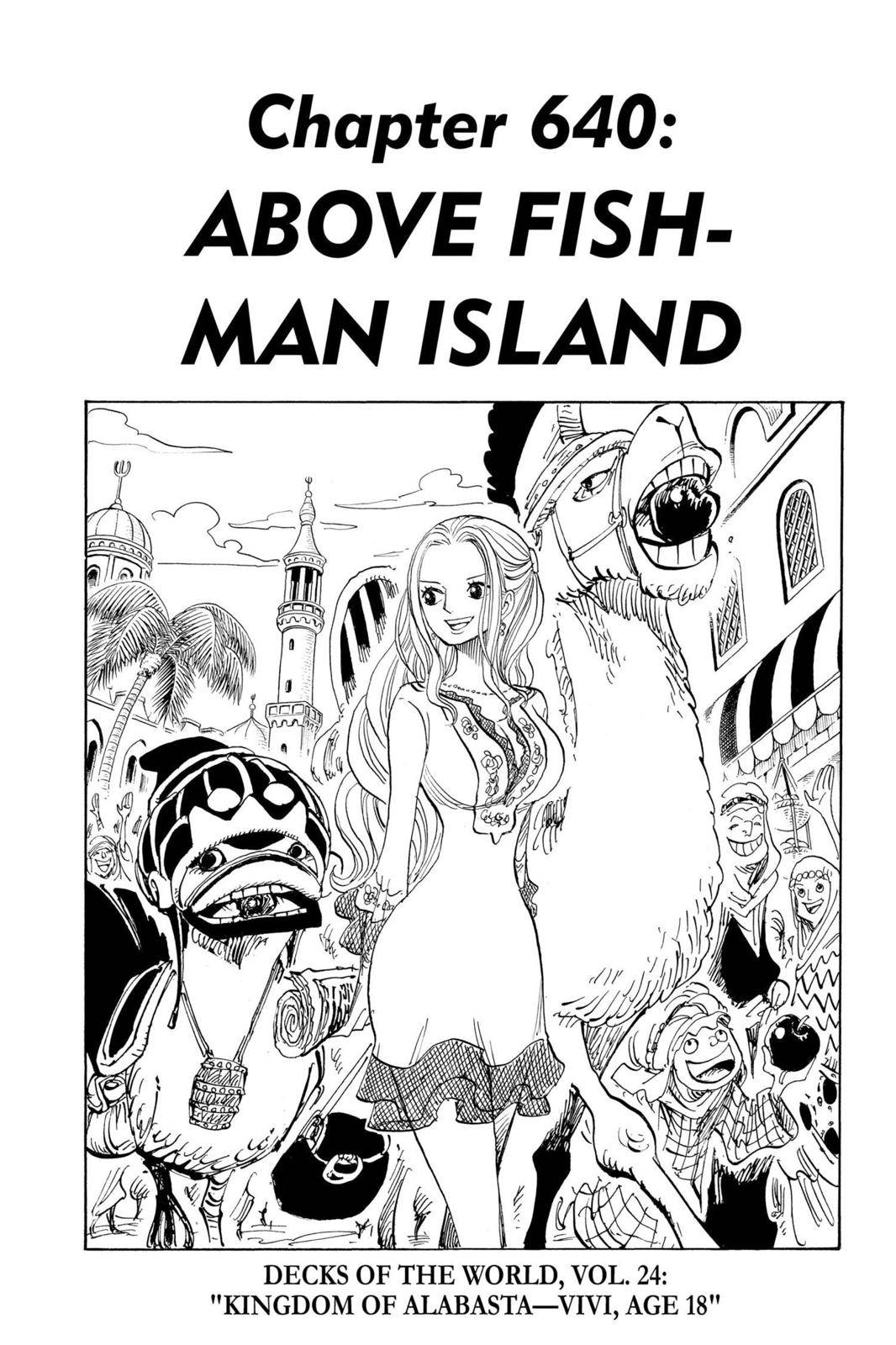 One Piece Chapter 640 Page 1