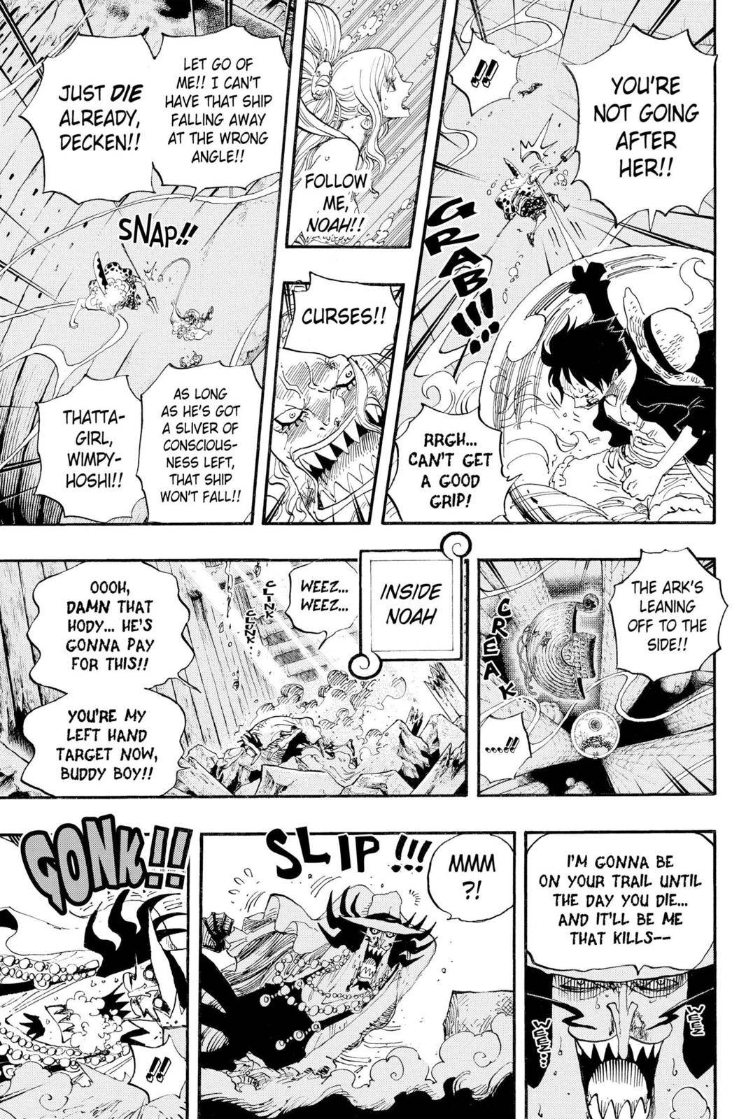 One Piece Chapter 640 Page 16