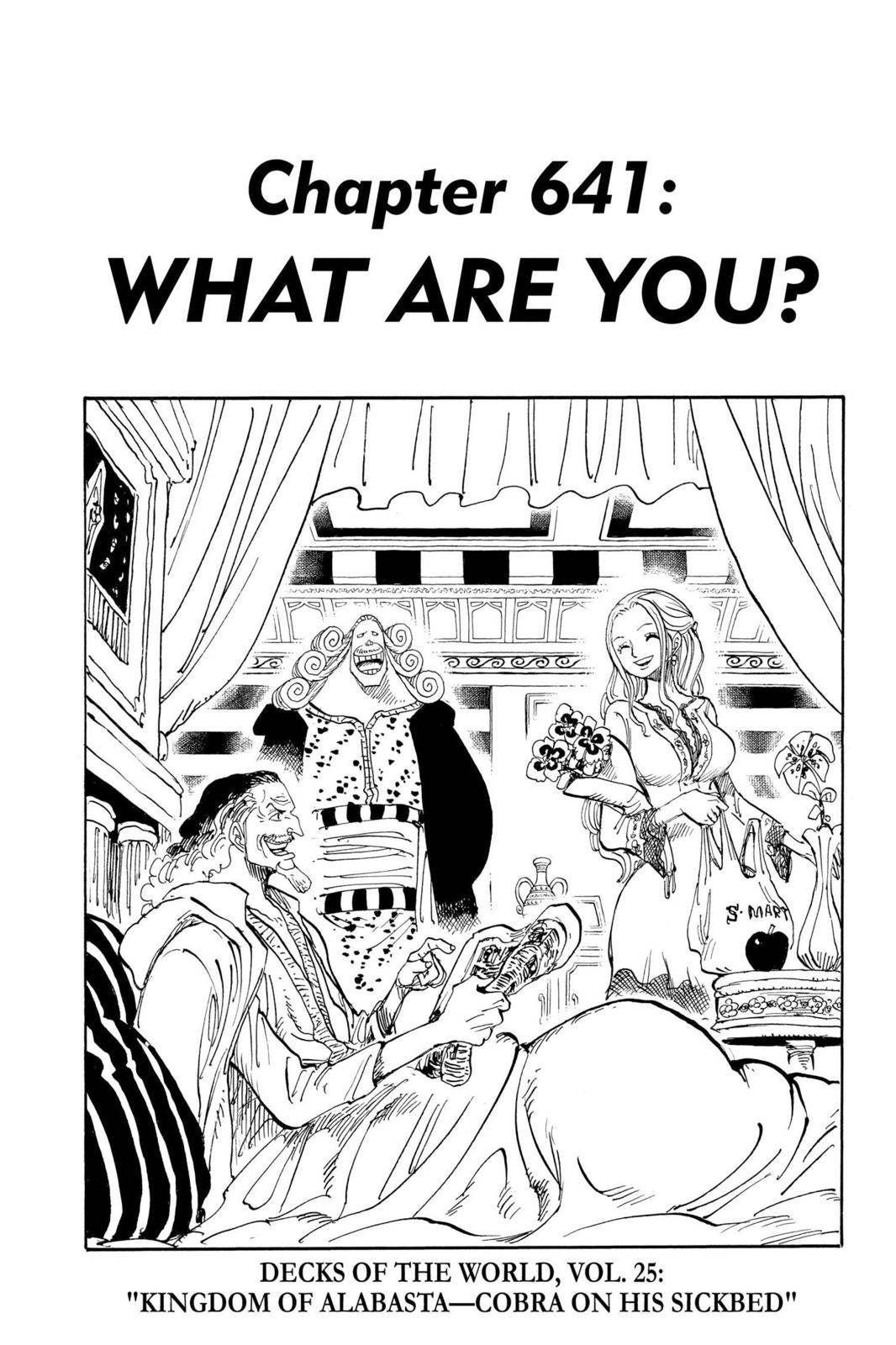 One Piece Chapter 641 Page 1