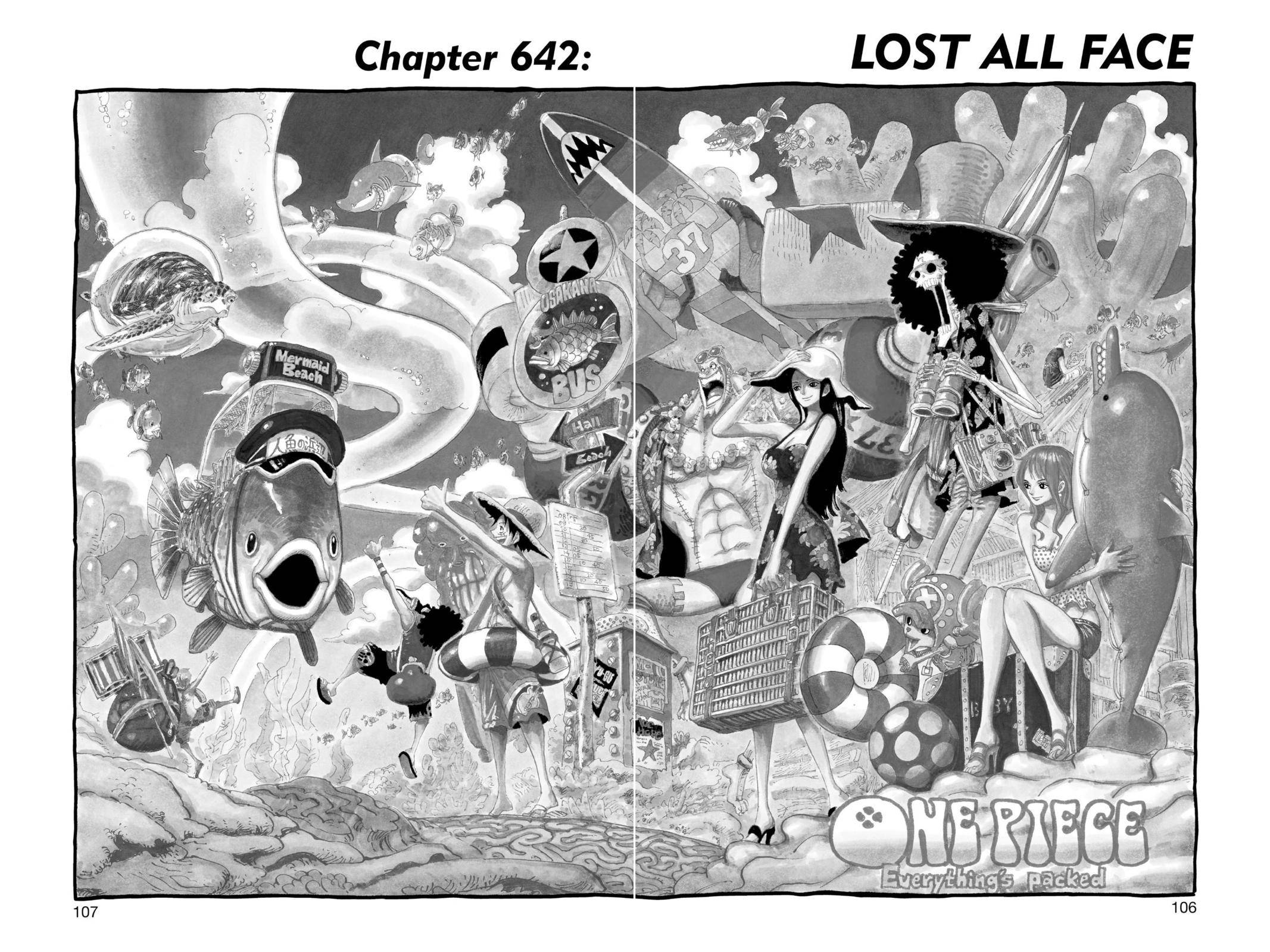One Piece Chapter 642 Page 1