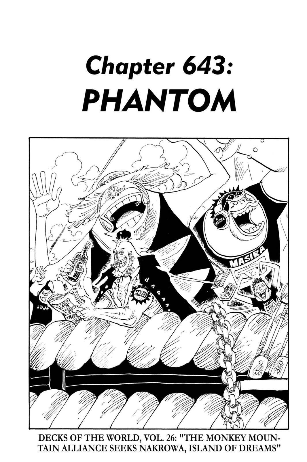 One Piece Chapter 643 Page 1