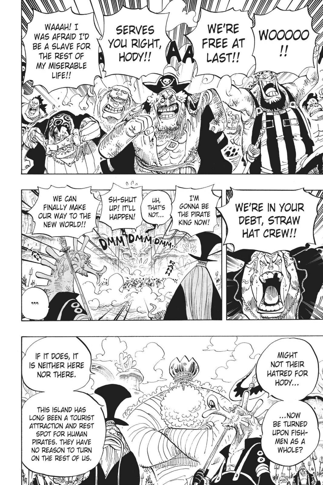 One Piece Chapter 649 Page 2
