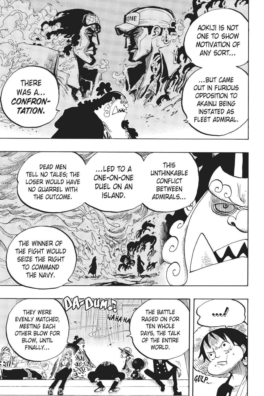 One Piece Chapter 650 Page 5