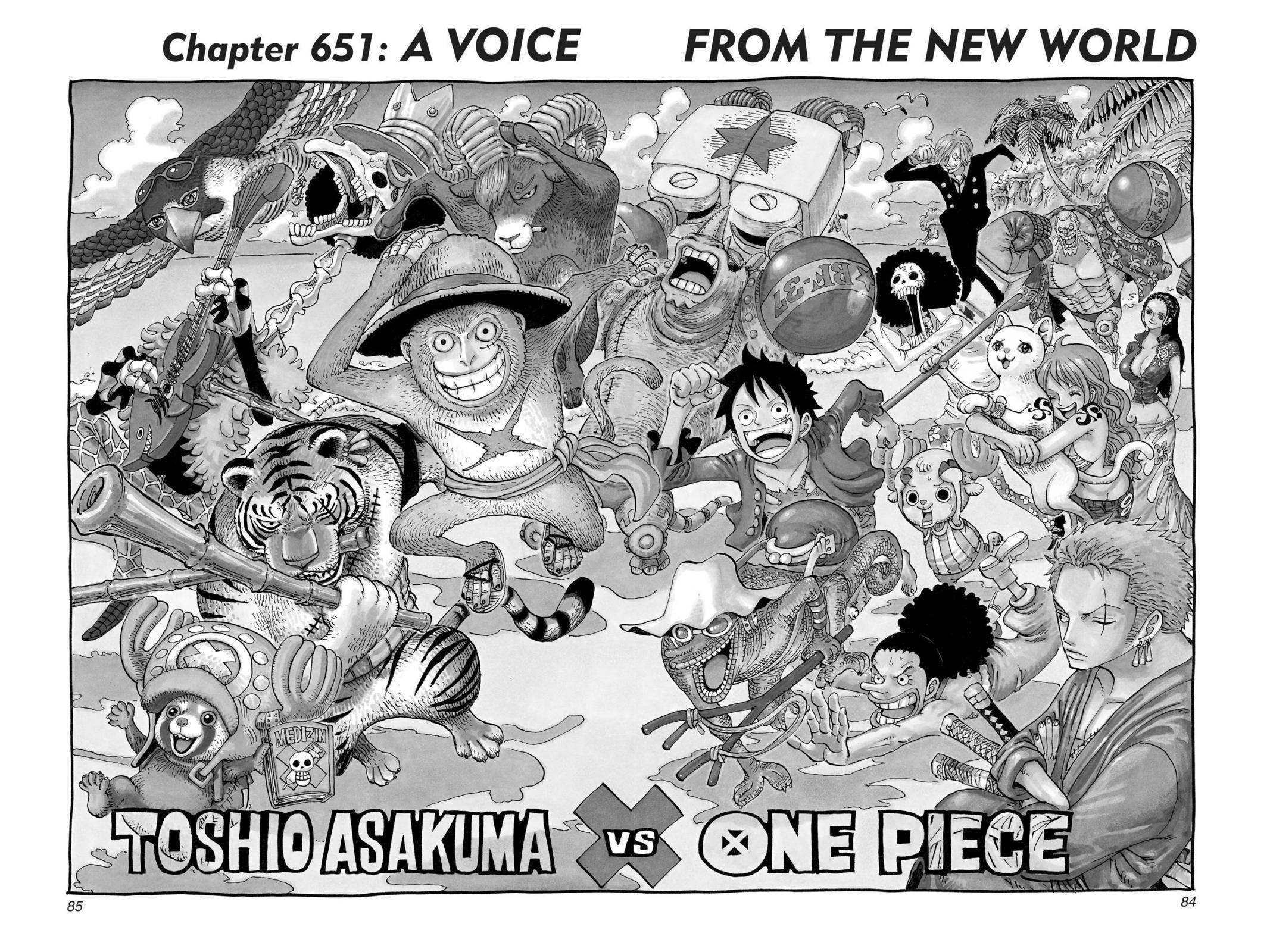 One Piece Chapter 651 Page 1