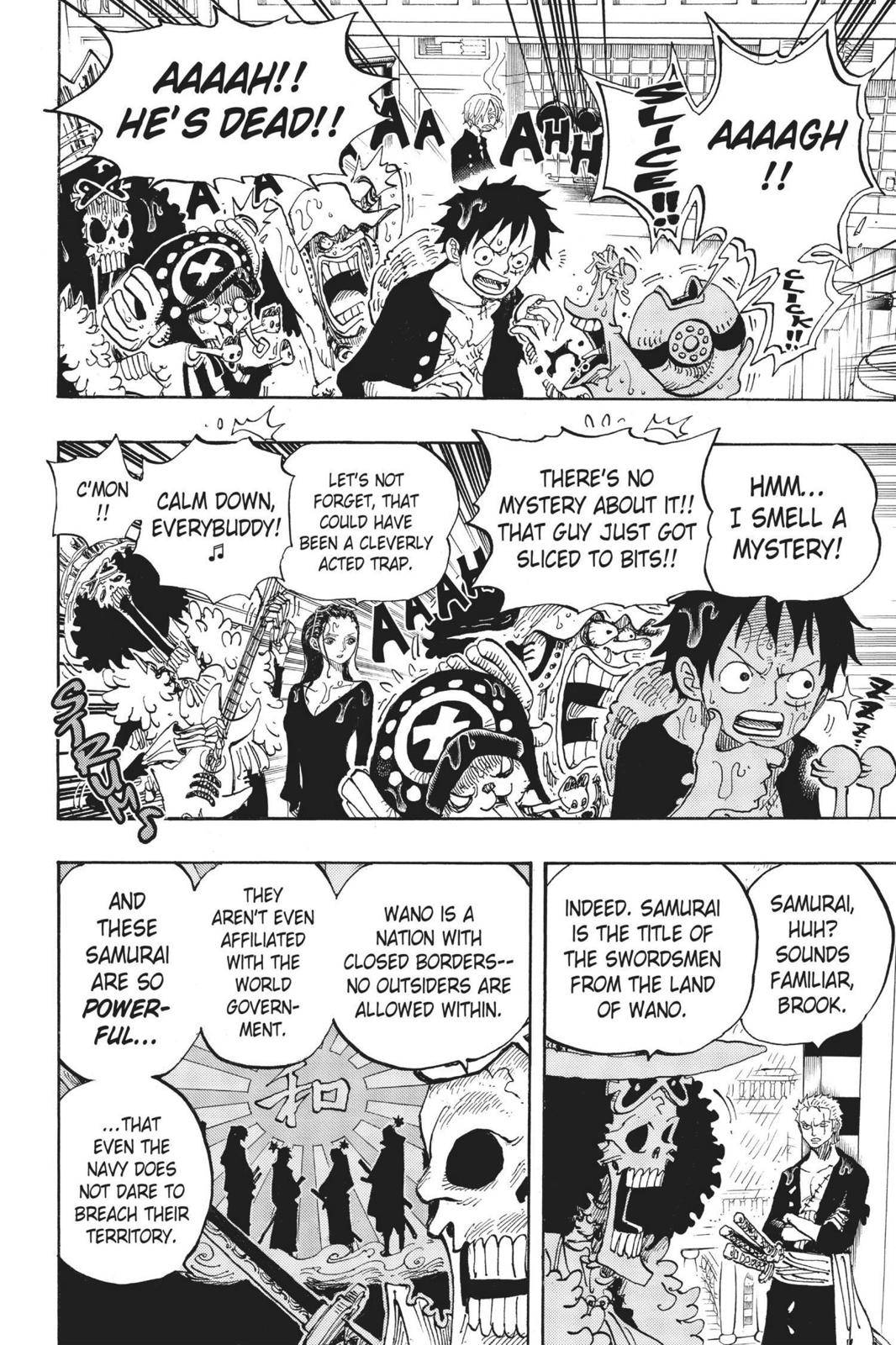 One Piece Chapter 655 Page 6
