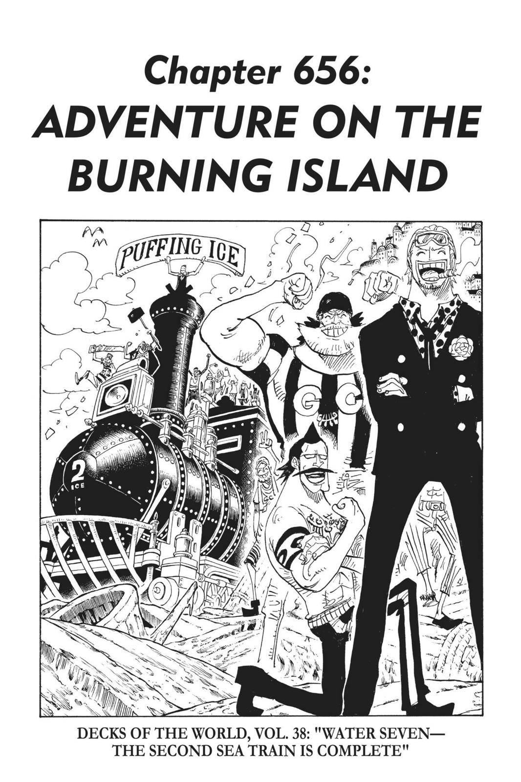 One Piece Chapter 656 Page 1