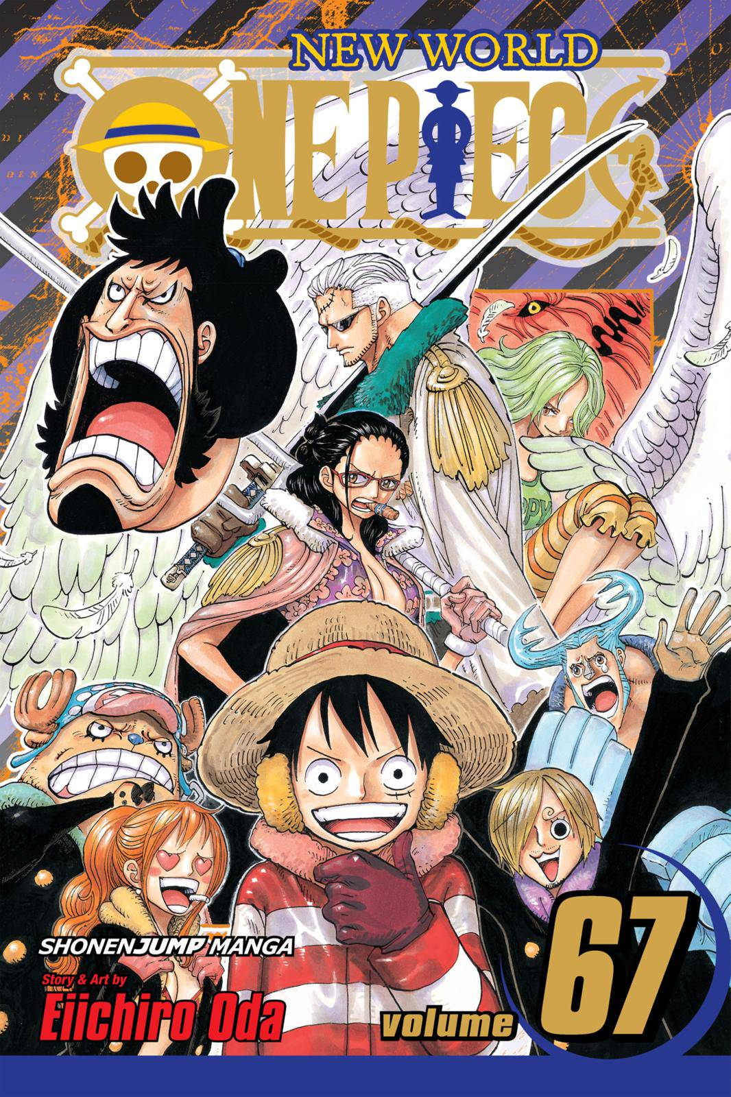 One Piece Chapter 657 Page 1