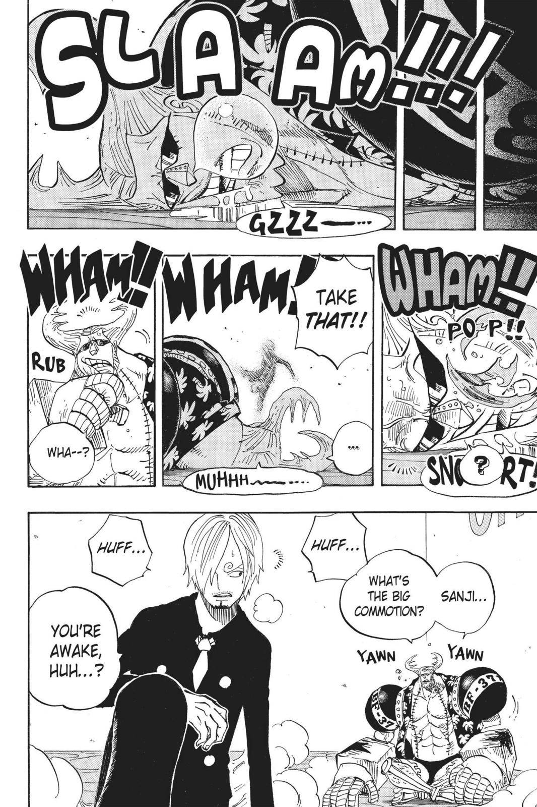 One Piece Chapter 657 Page 12