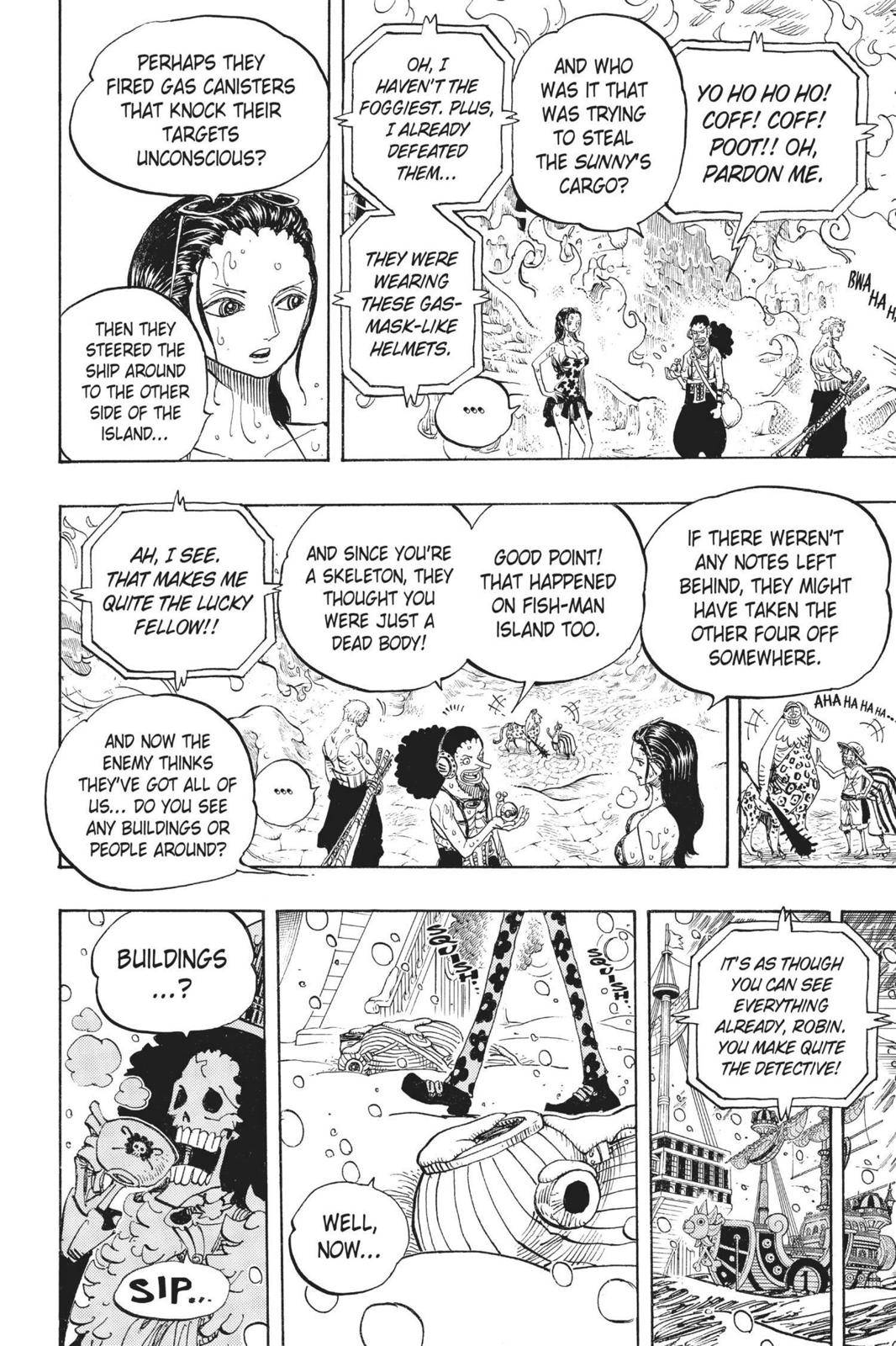 One Piece Chapter 658 Page 14