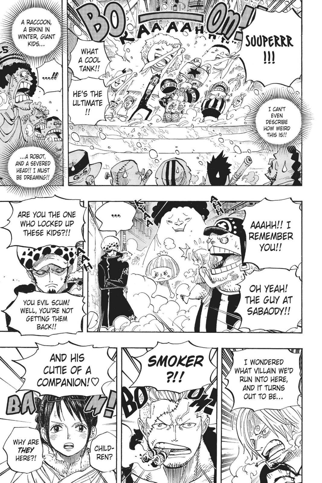 One Piece Chapter 660 Page 14