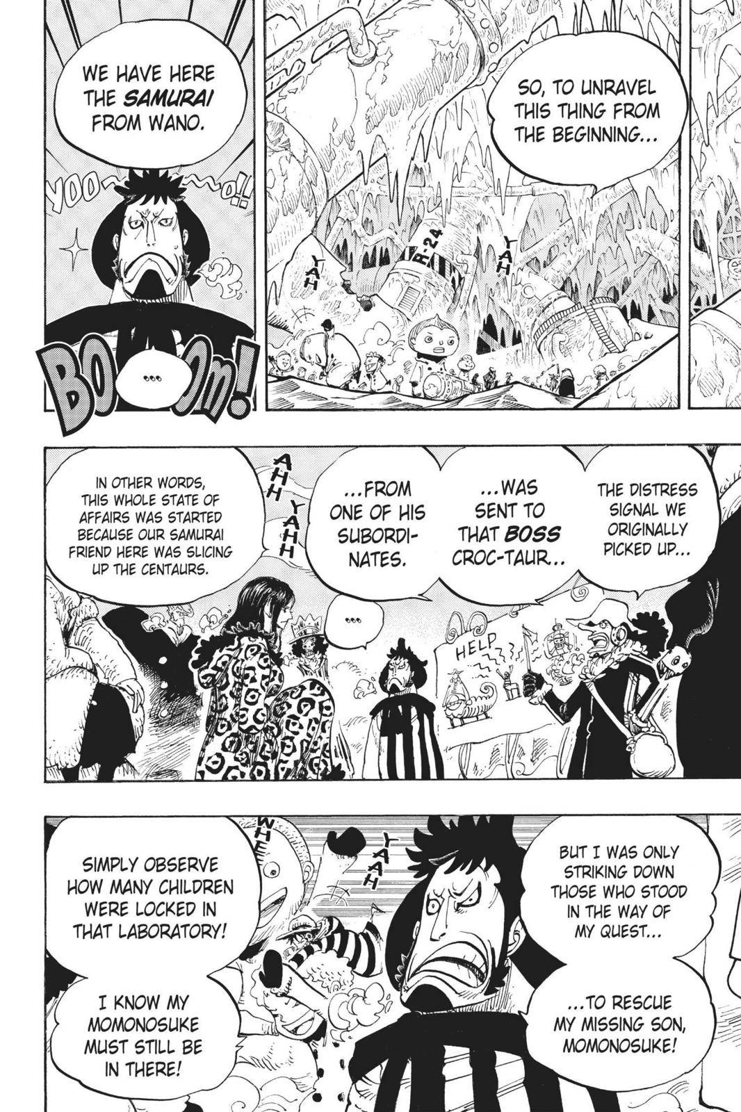One Piece Chapter 663 Page 16