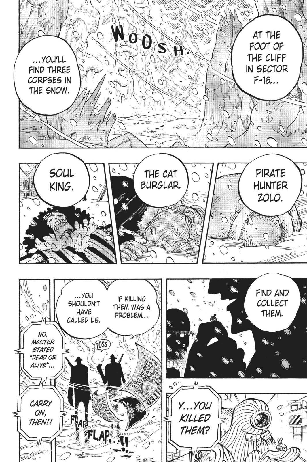 One Piece Chapter 666 Page 2