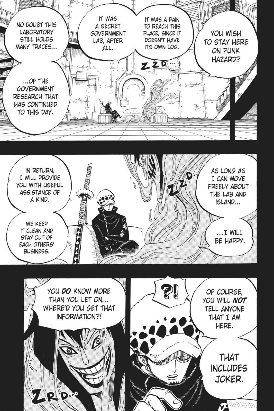 One Piece Chapter 666 Page 5