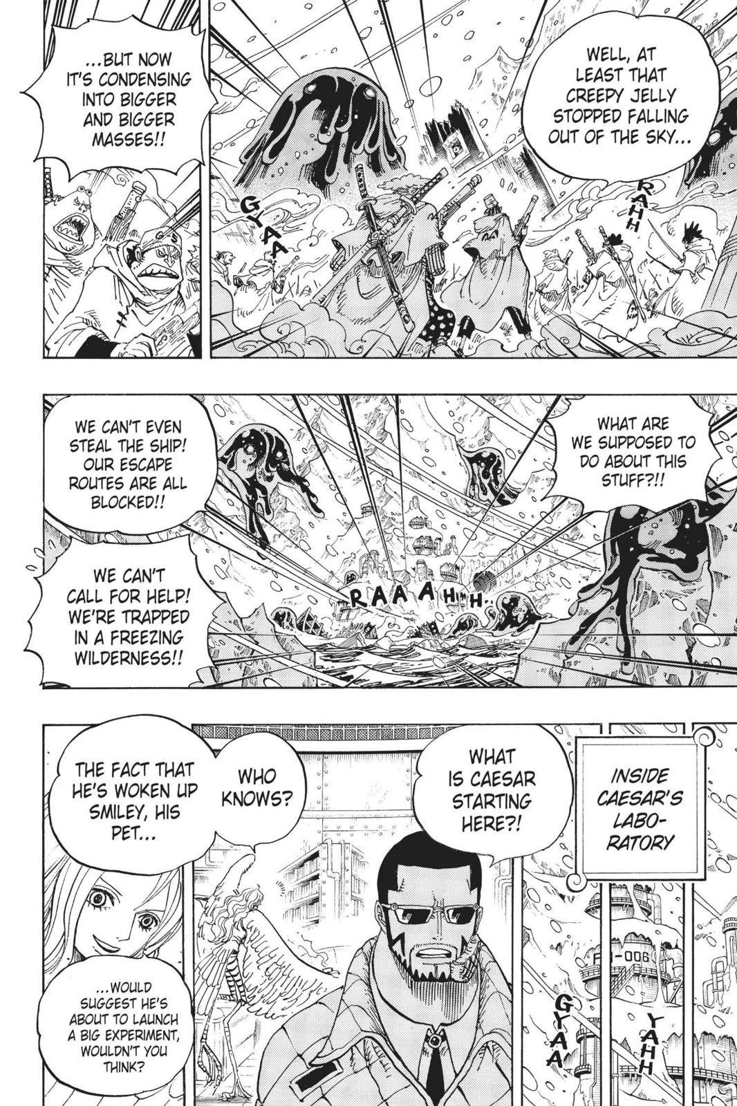 One Piece Chapter 673 Page 14