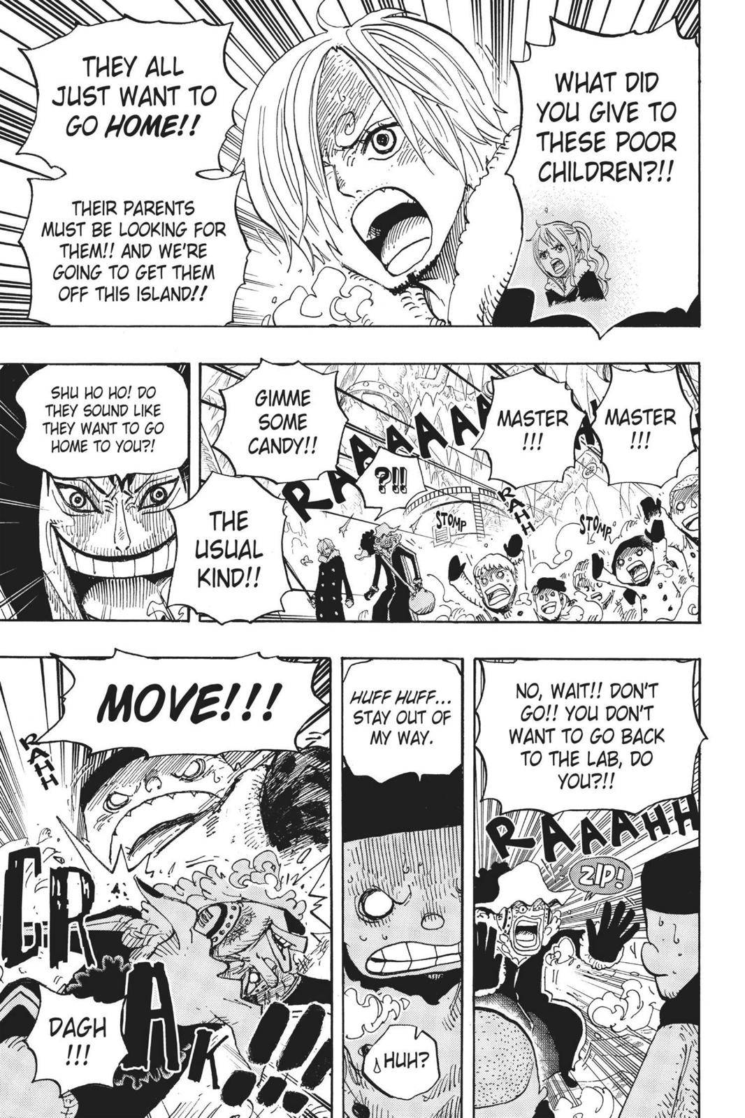 One Piece Chapter 674 Page 3