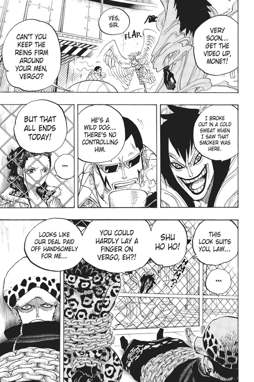 One Piece Chapter 675 Page 7