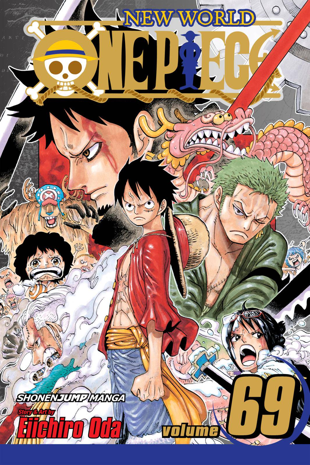 One Piece Chapter 679 Page 1