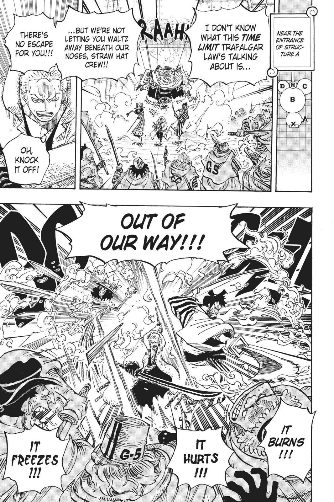 One Piece Chapter 679 Page 16