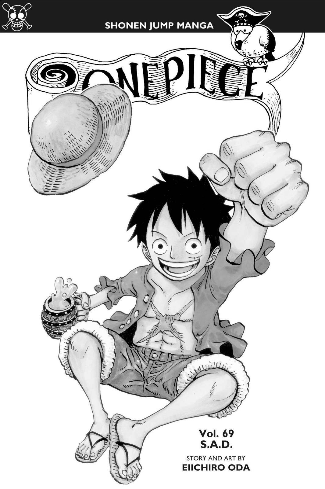 One Piece Chapter 679 Page 4