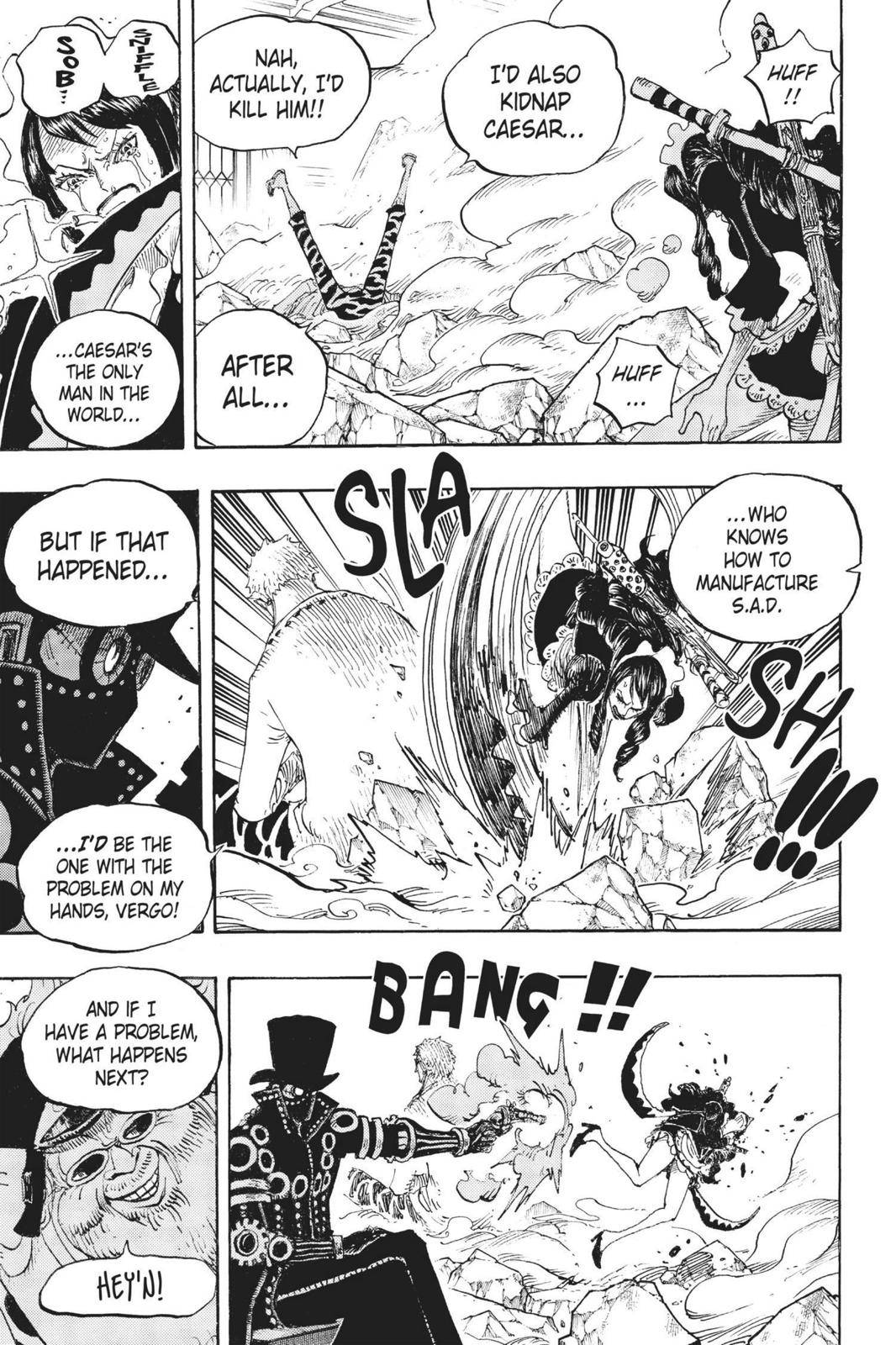 One Piece Chapter 682 Page 8