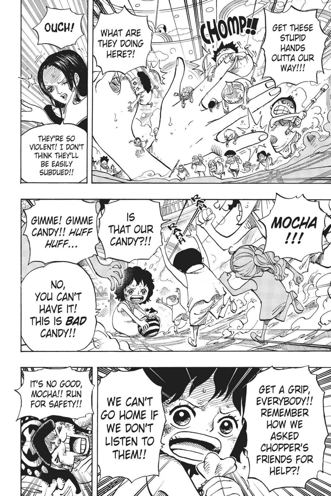One Piece Chapter 683 Page 12