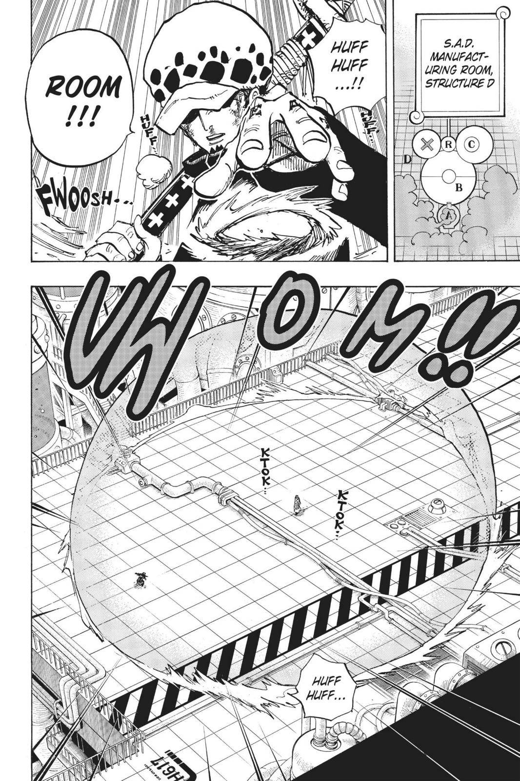 One Piece Chapter 683 Page 14