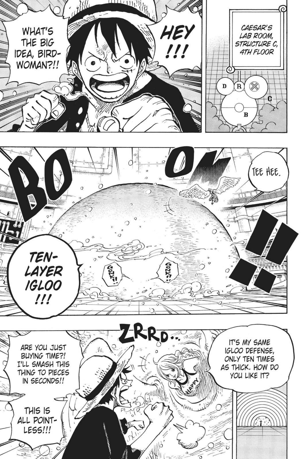 One Piece Chapter 683 Page 3