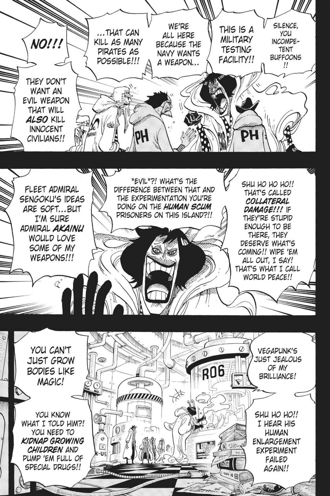 One Piece Chapter 684 Page 17