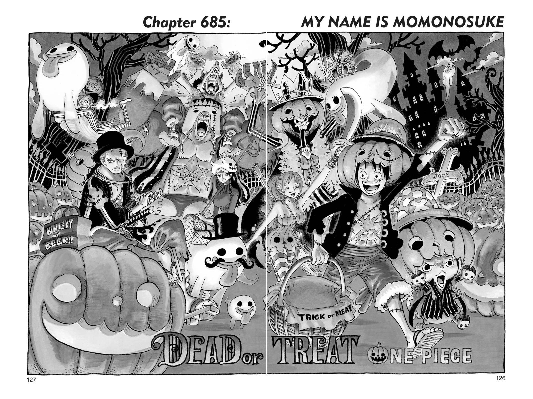 One Piece Chapter 685 Page 1