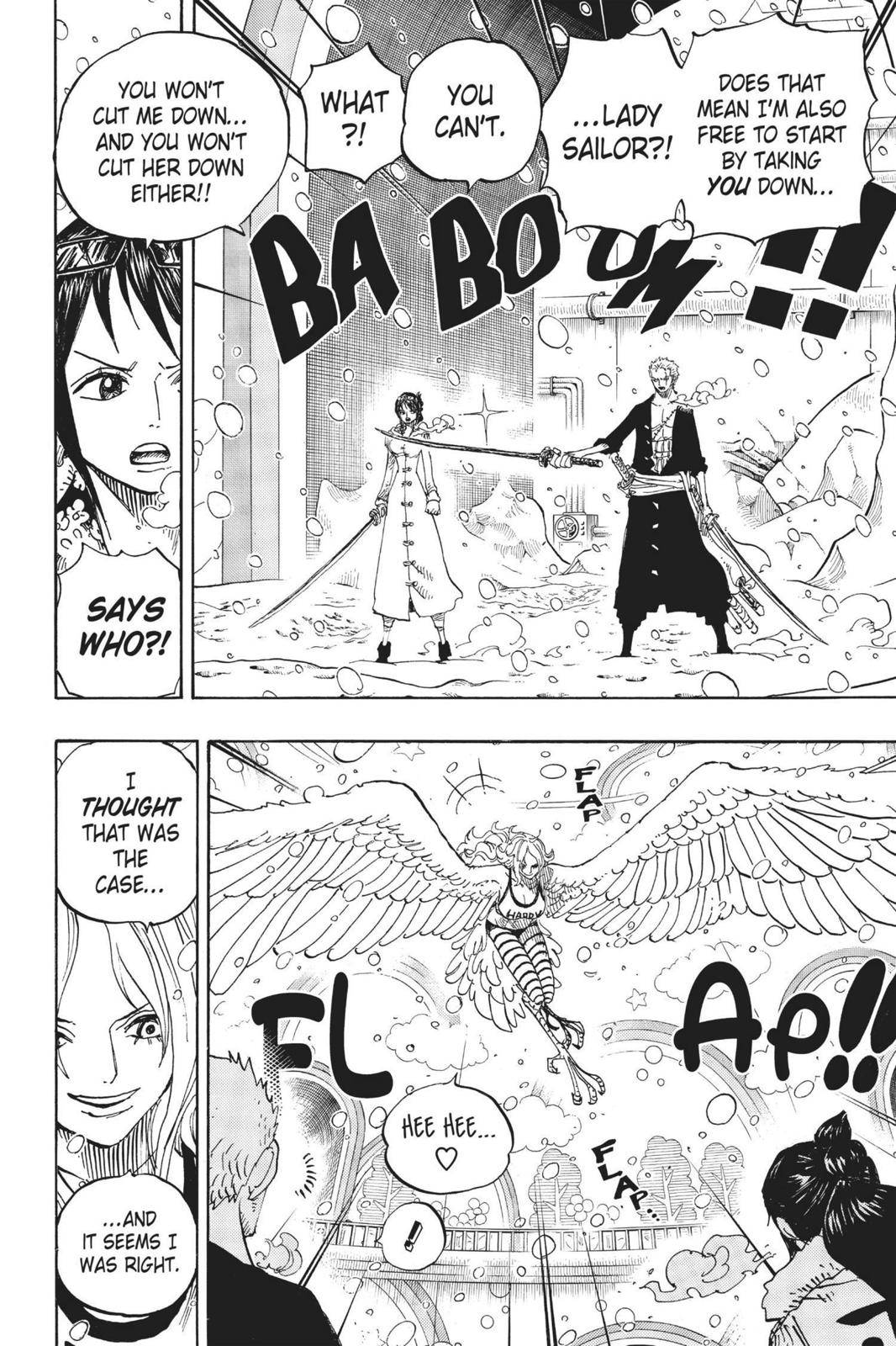 One Piece Chapter 687 Page 4