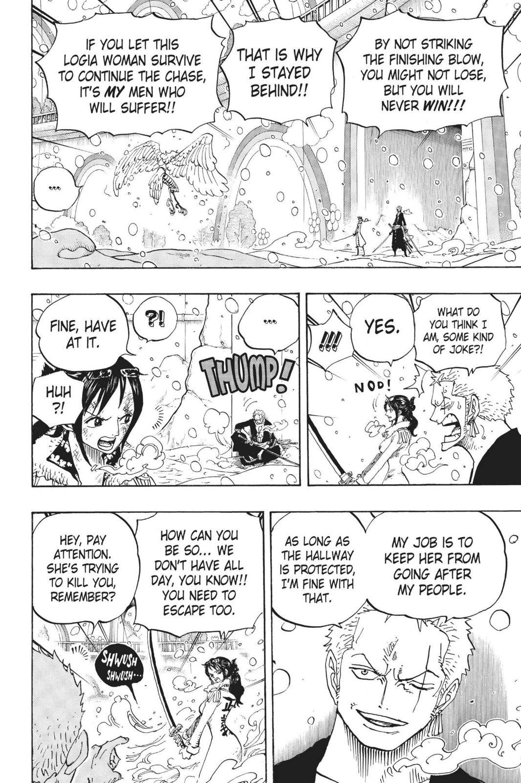 One Piece Chapter 687 Page 6