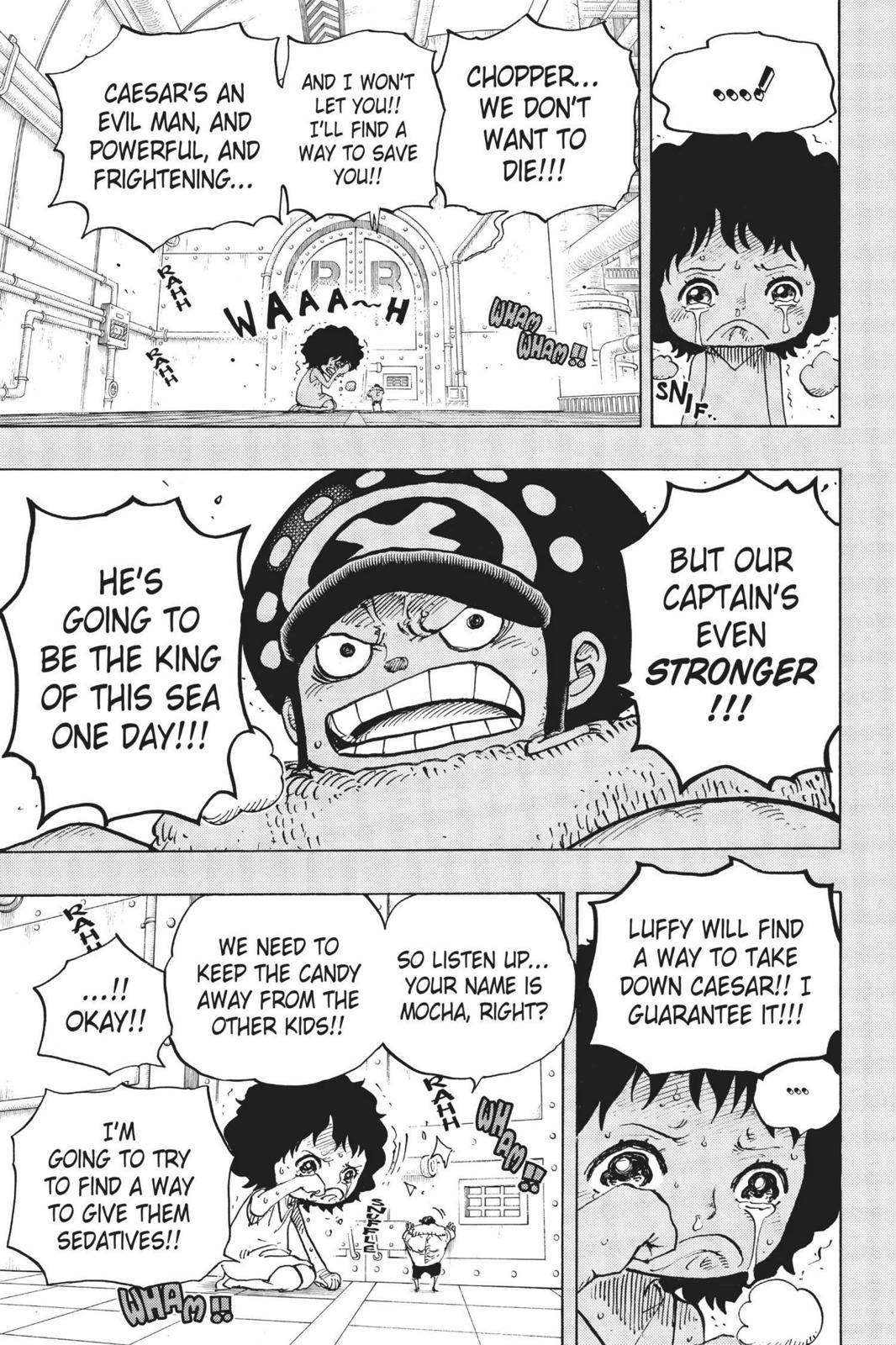 One Piece Chapter 688 Page 13