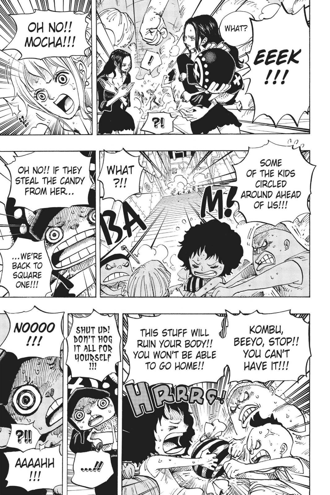One Piece Chapter 688 Page 5