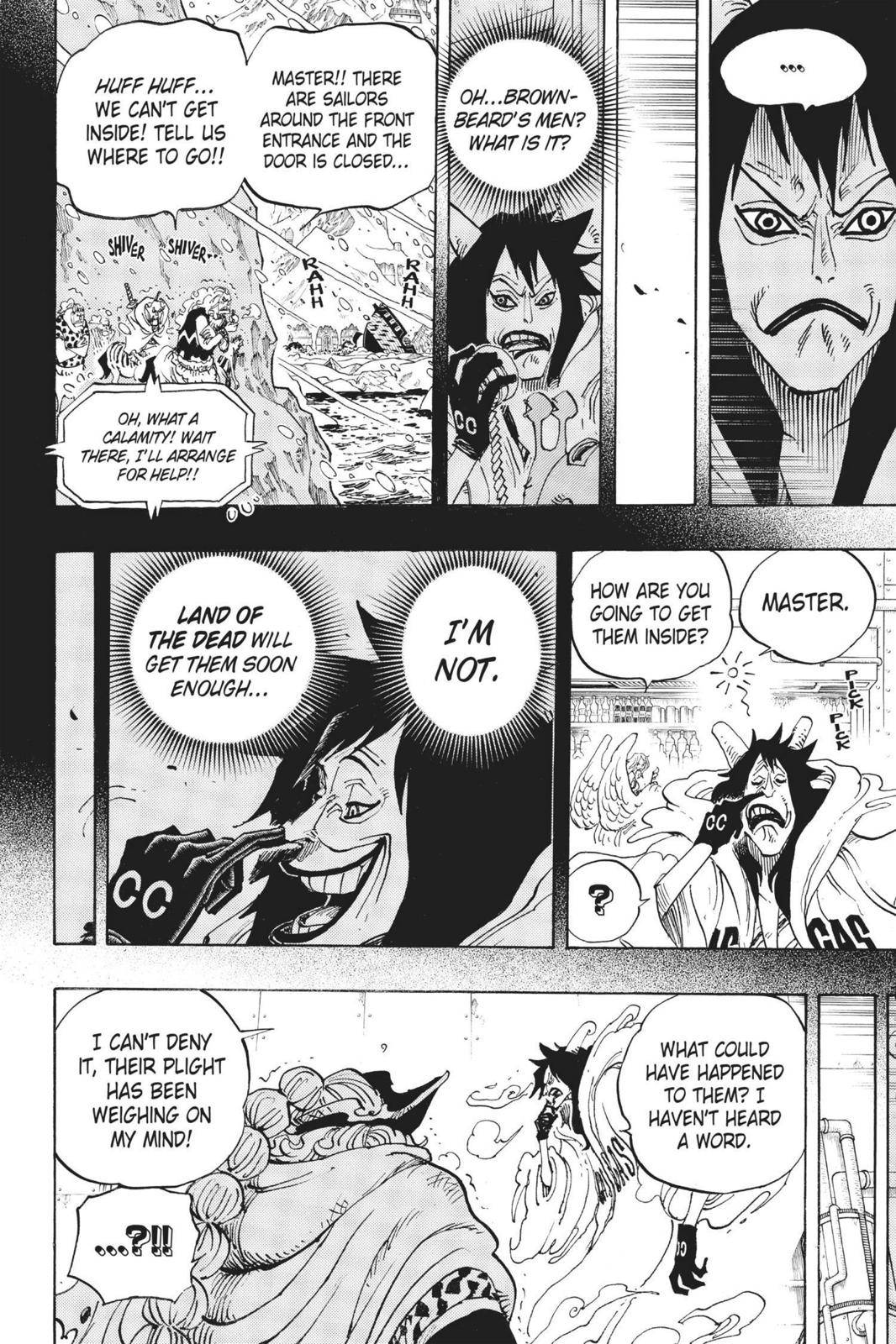 One Piece Chapter 689 Page 4