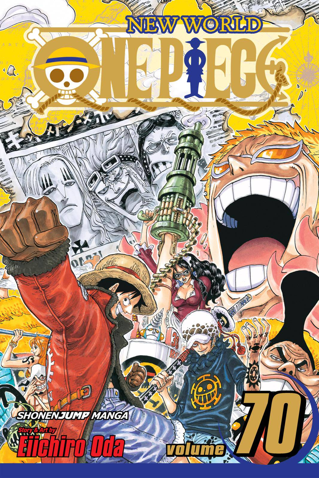 One Piece Chapter 691 Page 1