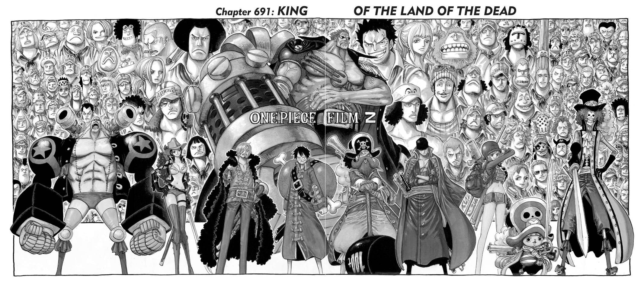 One Piece Chapter 691 Page 7