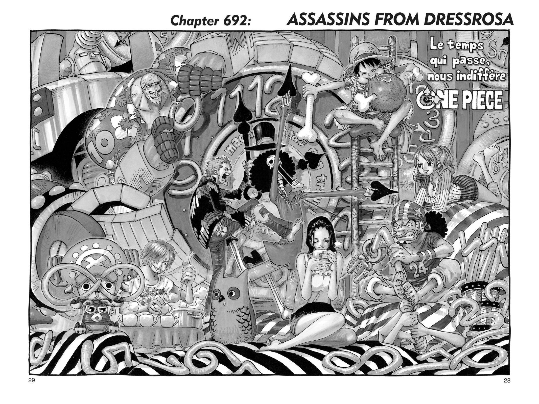 One Piece Chapter 692 Page 1