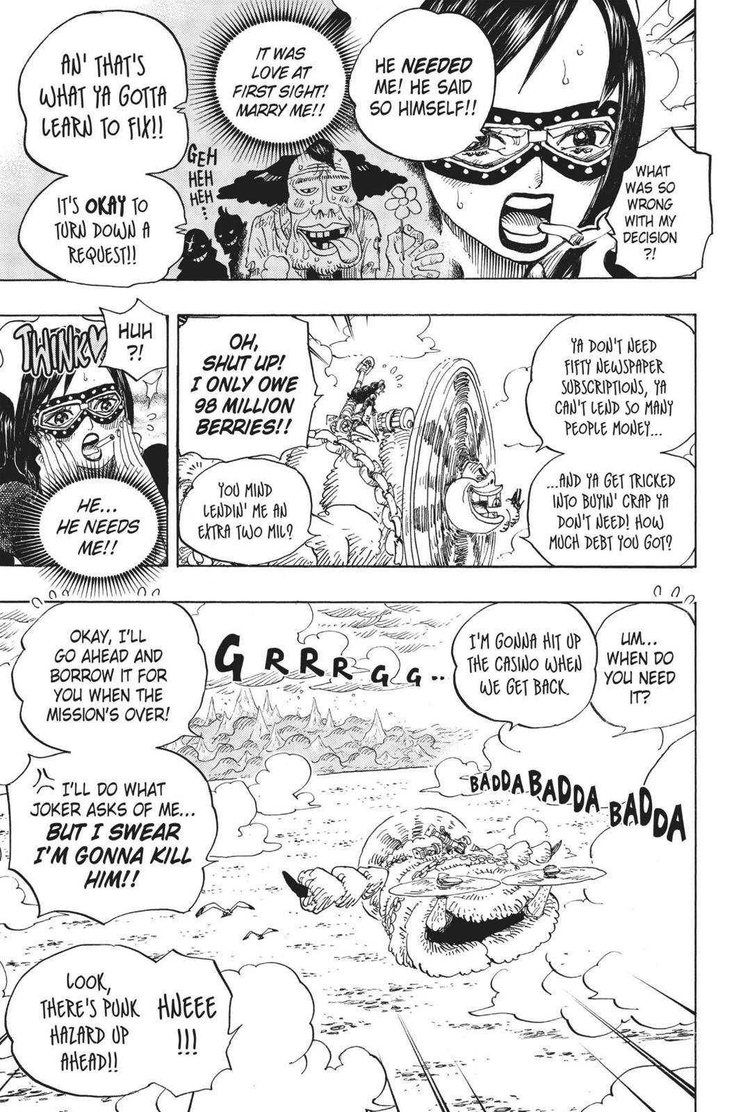 One Piece Chapter 692 Page 14
