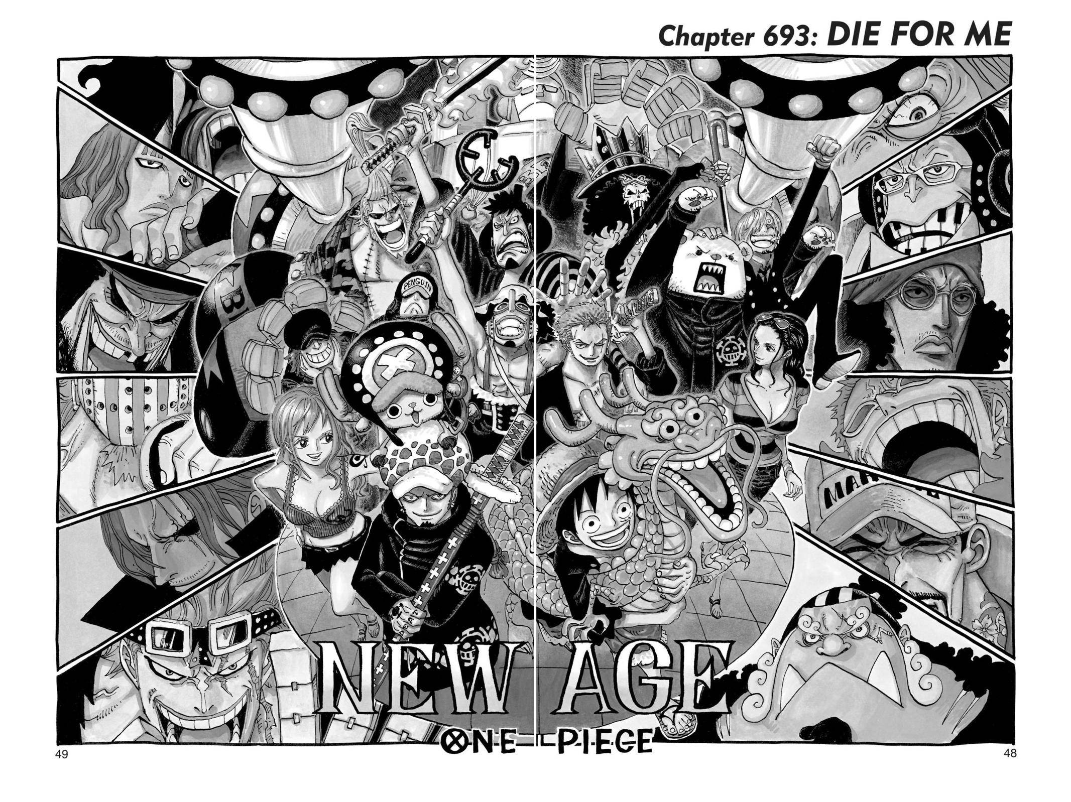 One Piece Chapter 693 Page 1