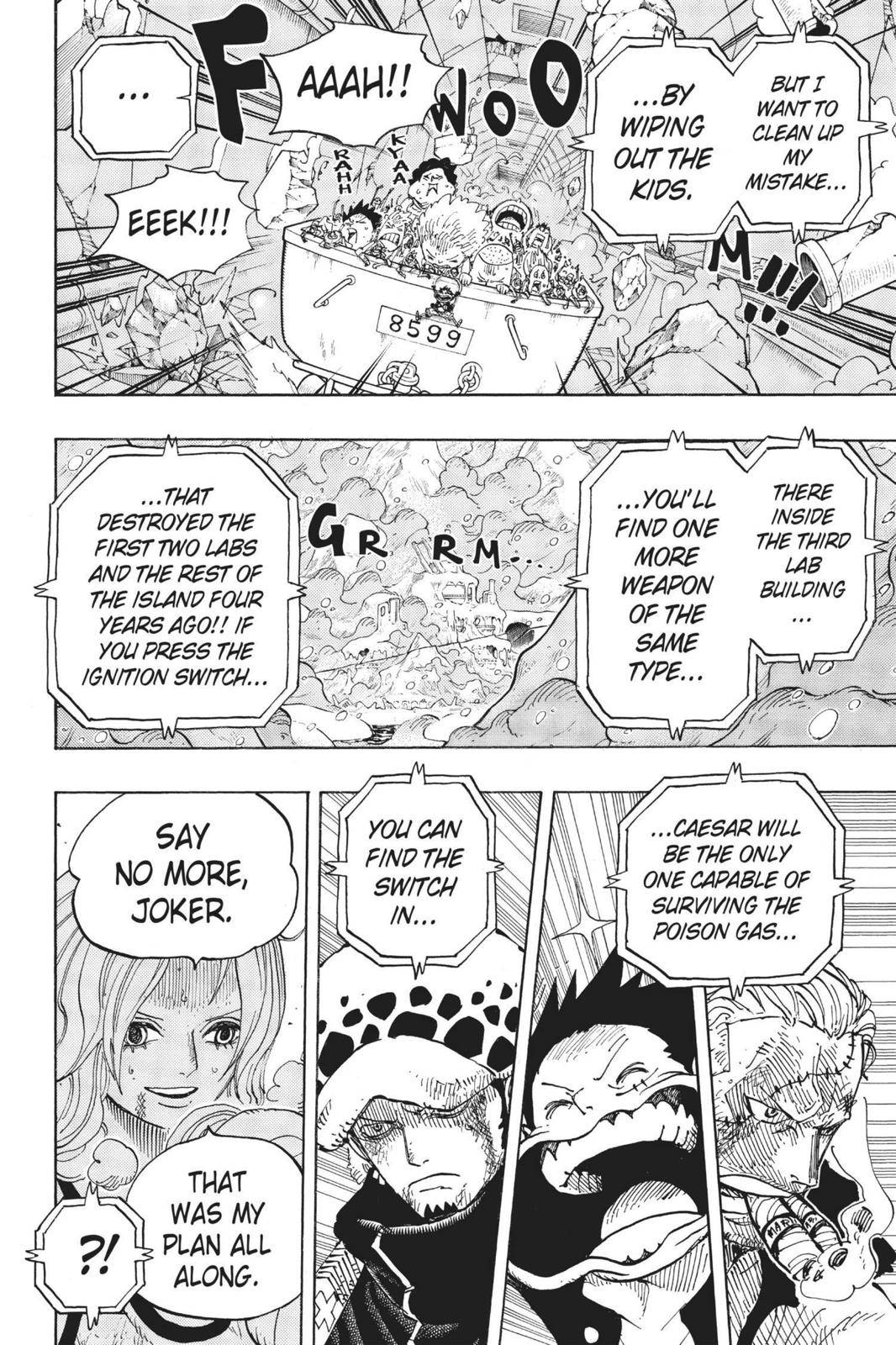 One Piece Chapter 693 Page 16