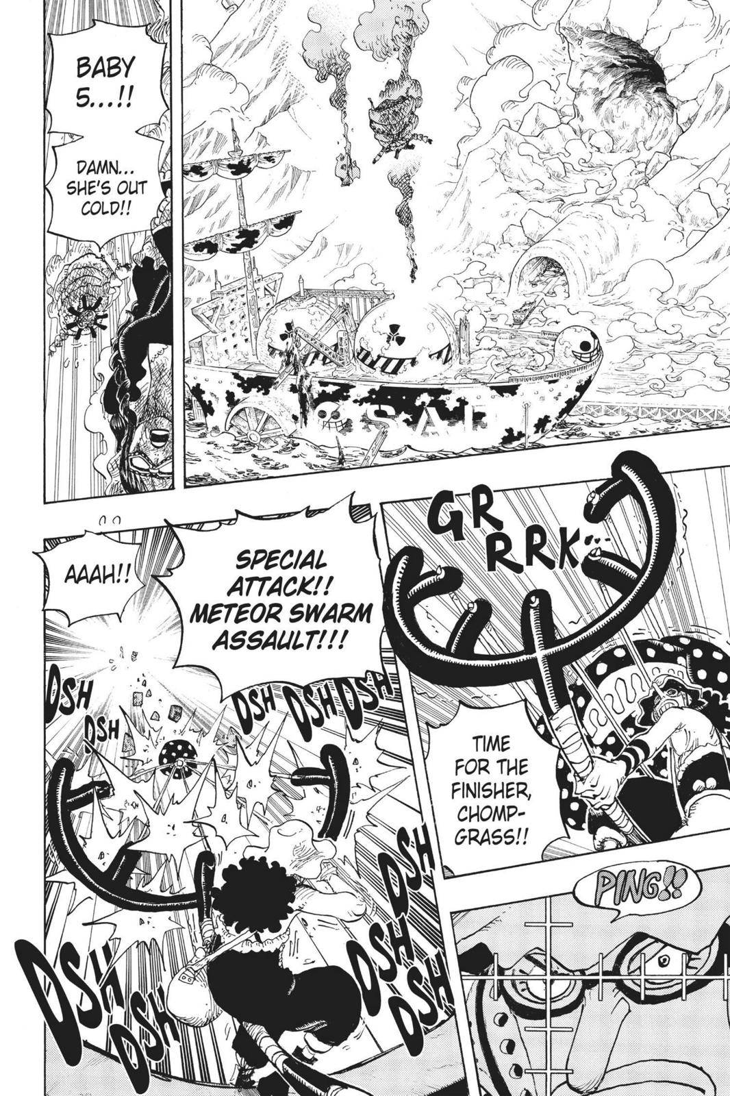 One Piece Chapter 695 Page 14