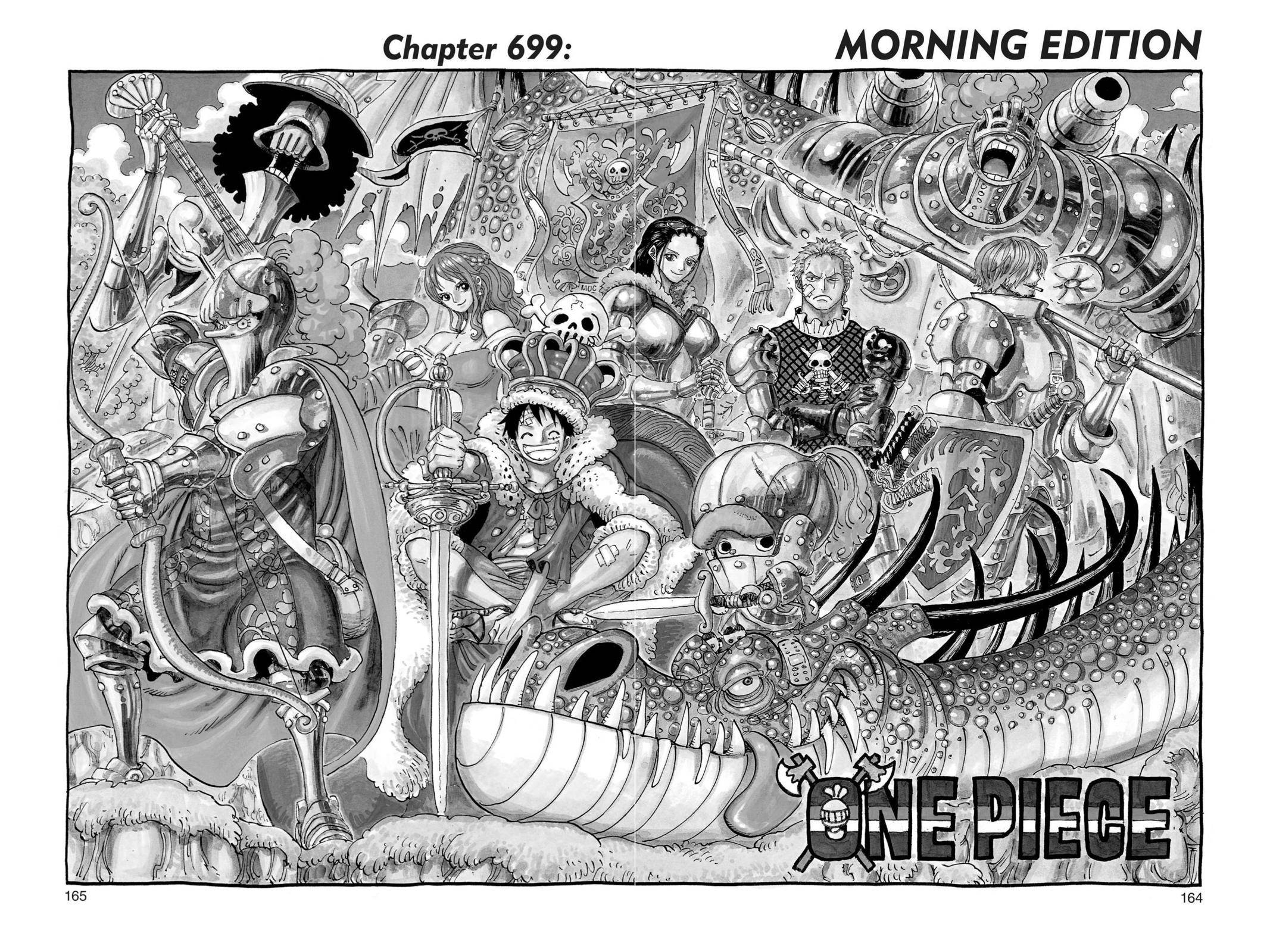 One Piece Chapter 699 Page 1