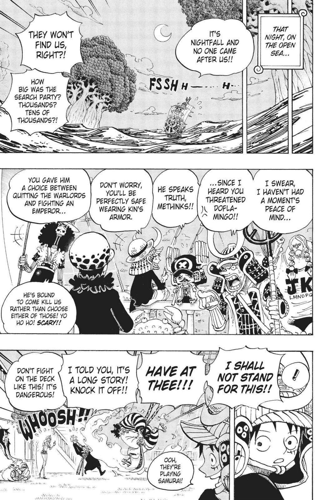 One Piece Chapter 699 Page 11
