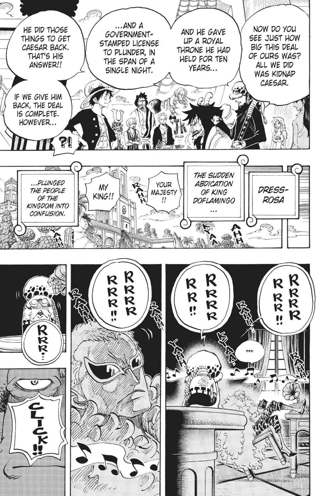 One Piece Chapter 699 Page 19