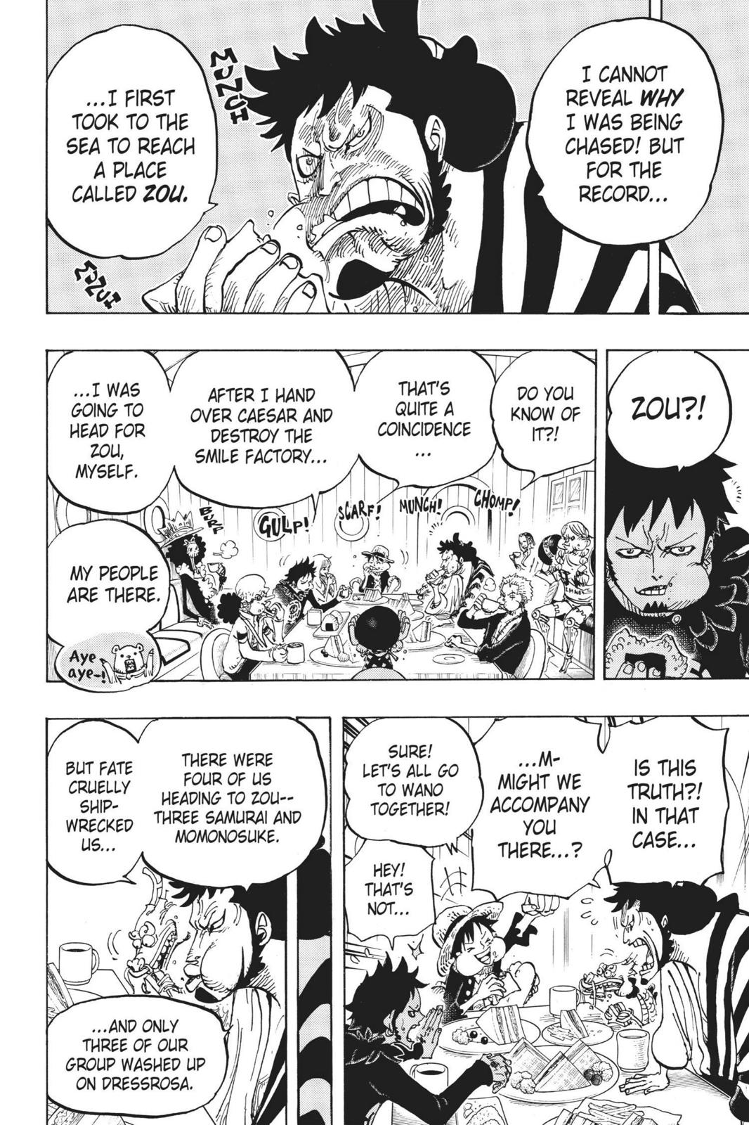 One Piece Chapter 700 Page 10