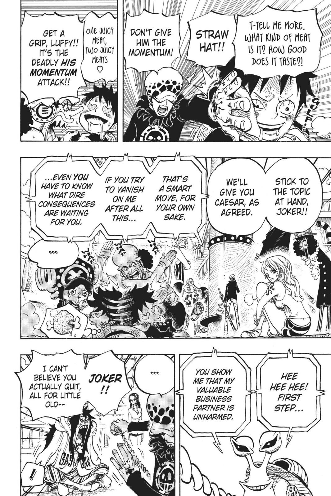 One Piece Chapter 700 Page 6