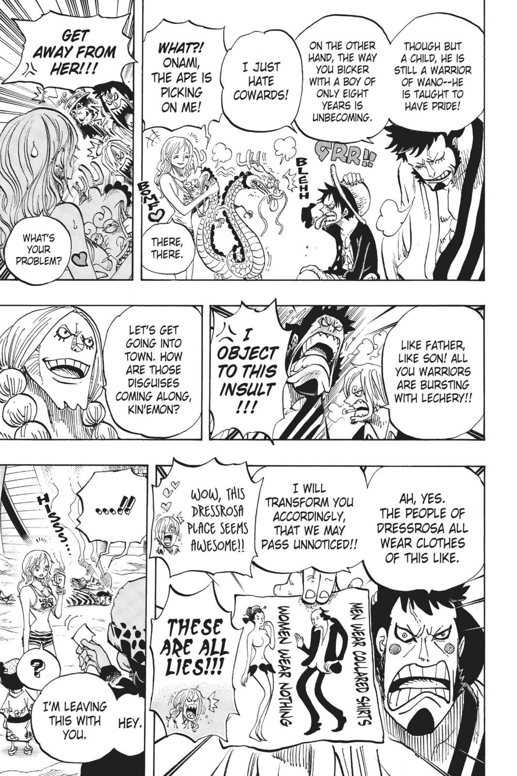 One Piece Chapter 701 Page 11