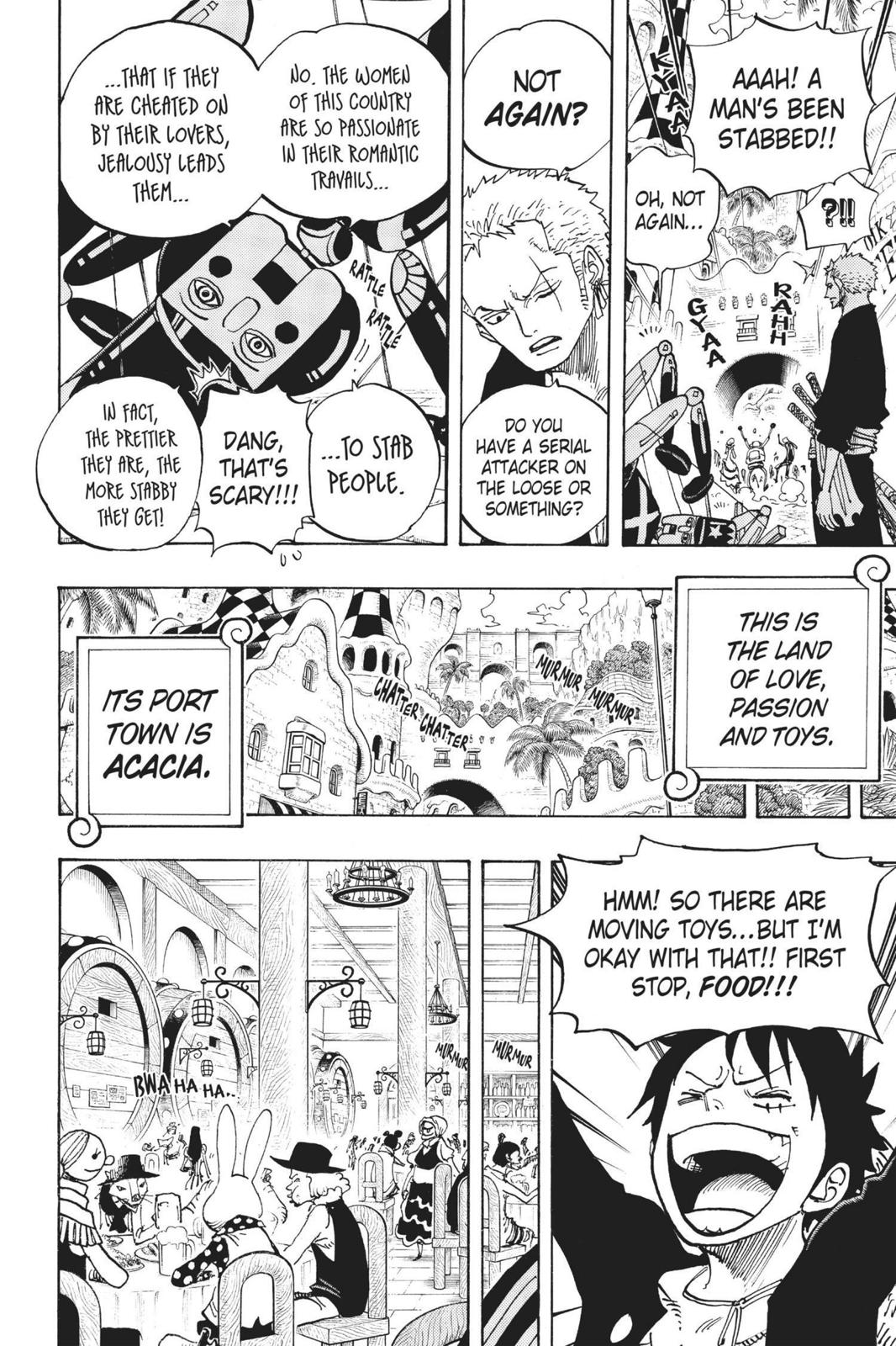 One Piece Chapter 701 Page 18