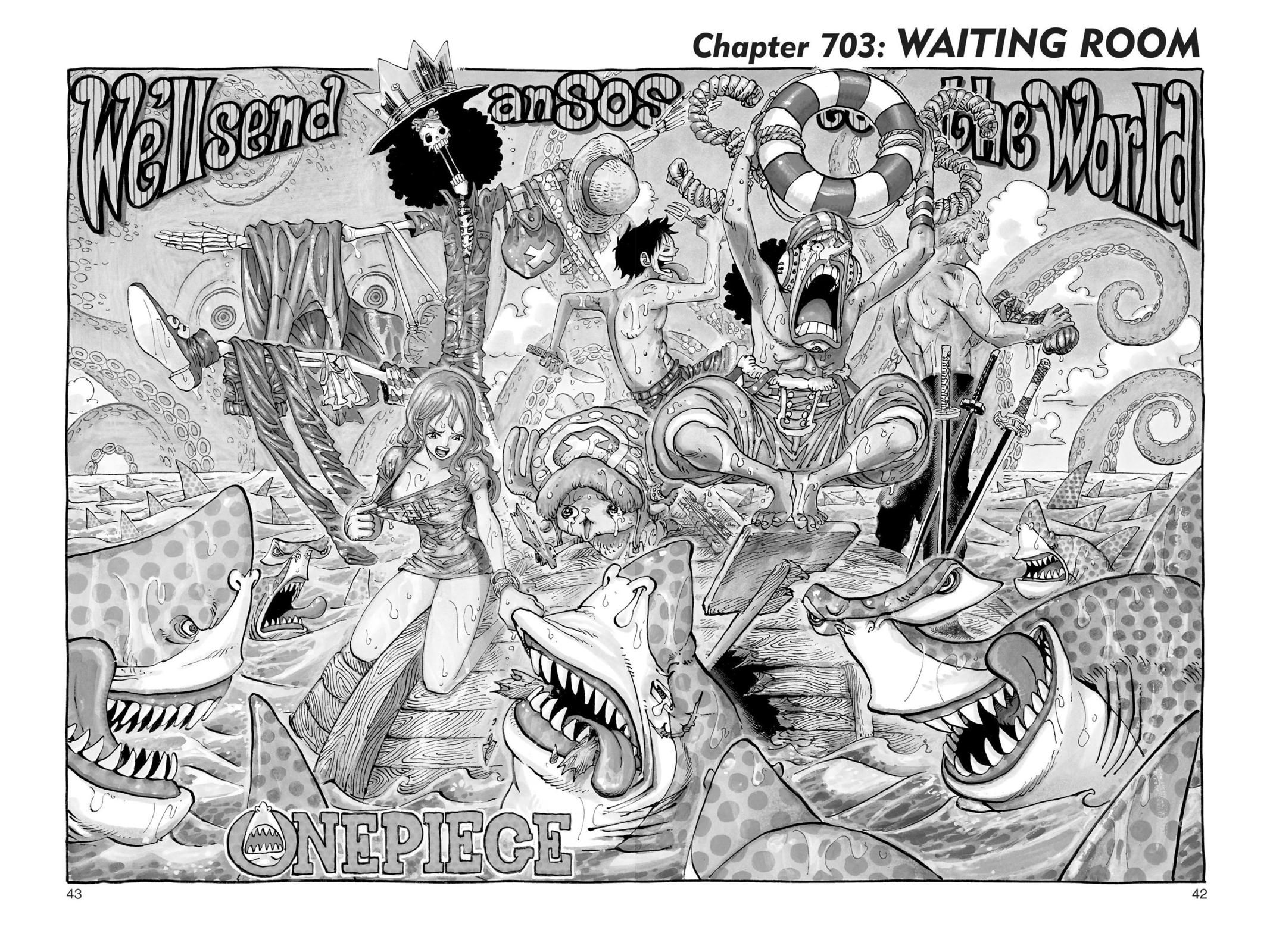 One Piece Chapter 703 Page 1