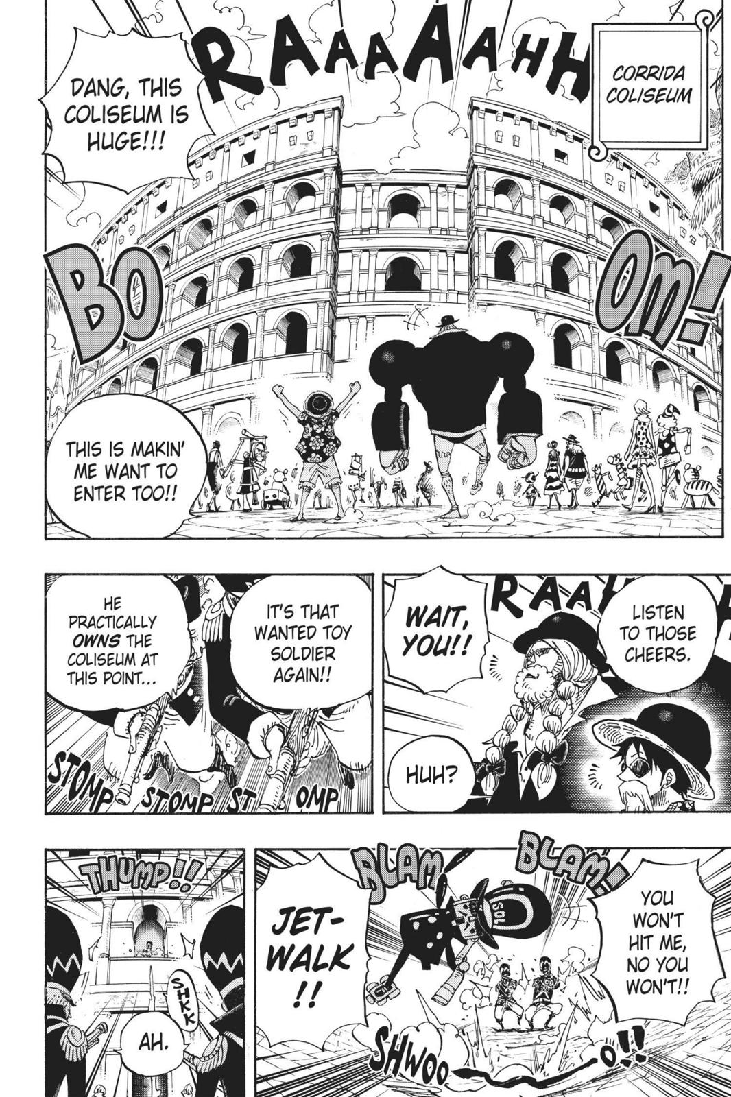 One Piece Chapter 703 Page 12